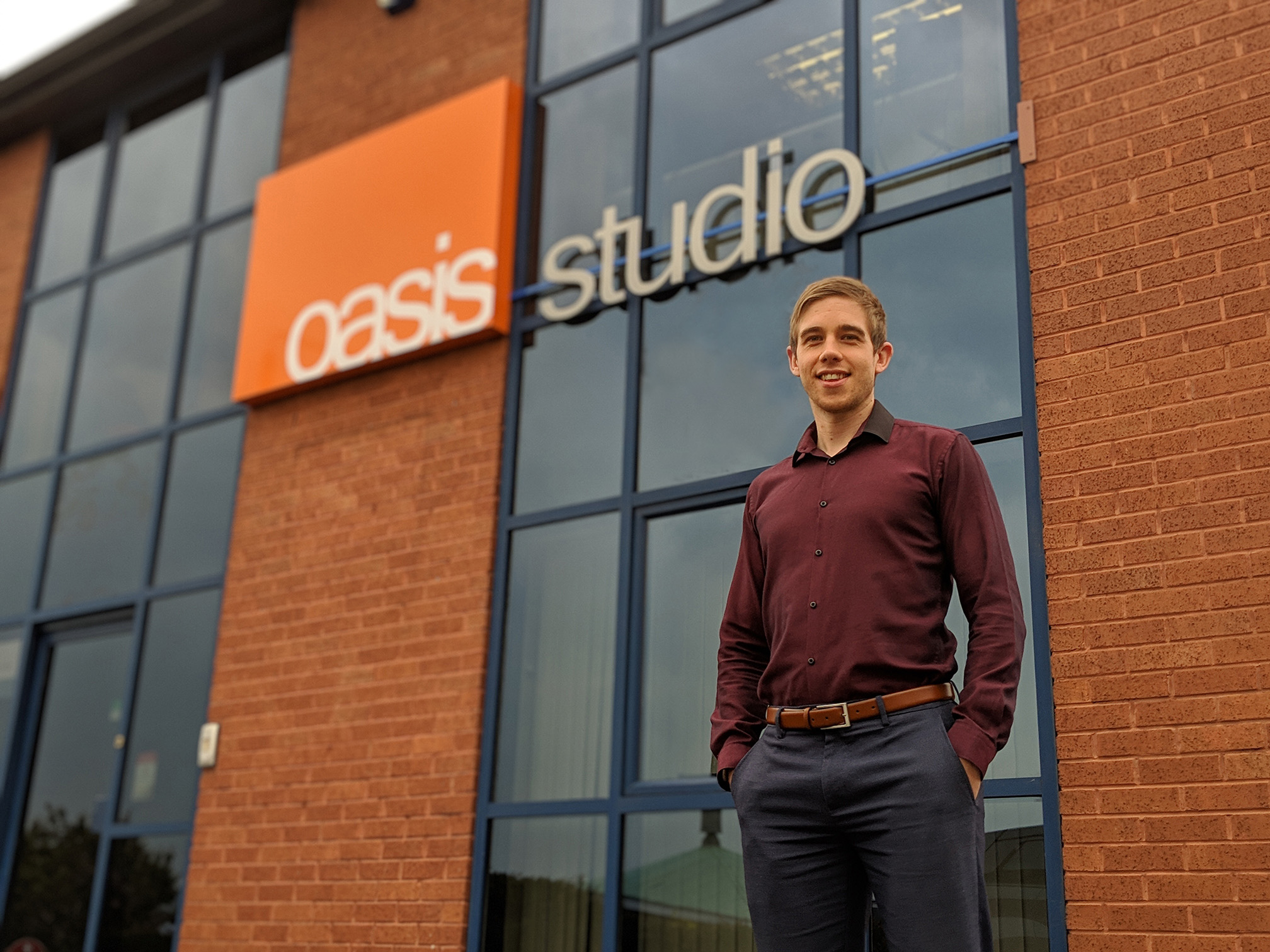 Meet Tony Buck, our Associate Director here at Oasis Studio
