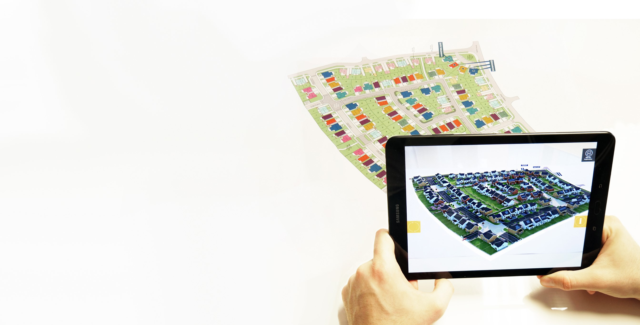 Augmented reality CGI