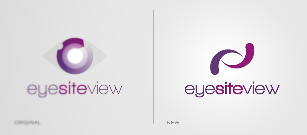 New logo and updated idenity for EyeSiteView