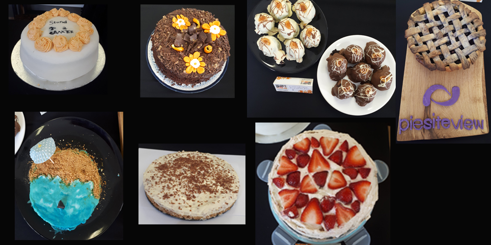 The cakes baked in our Bake off